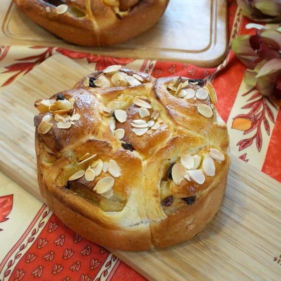 ☆りんごパン   (18㎝丸型)