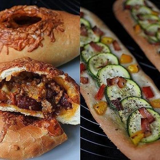 チリコンカンパン・ズッキーニのクリスピーピザ