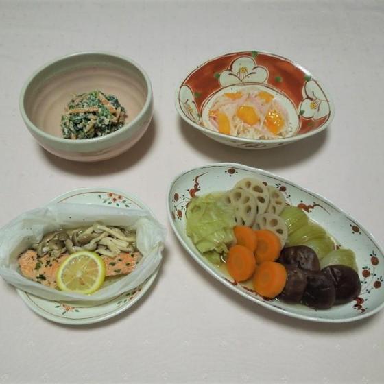 旬の魚と野菜いろいろ秋の料理レッスン