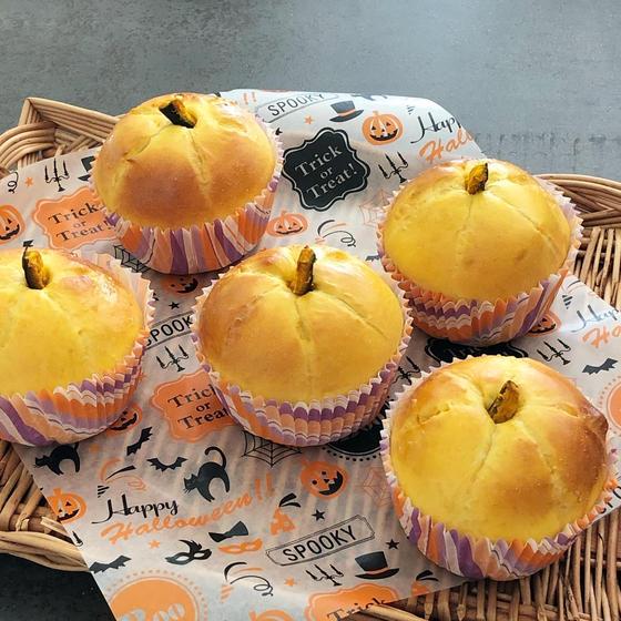 体験レッスン「かぼちゃパン」と「かぼちゃプリン」を作ります!