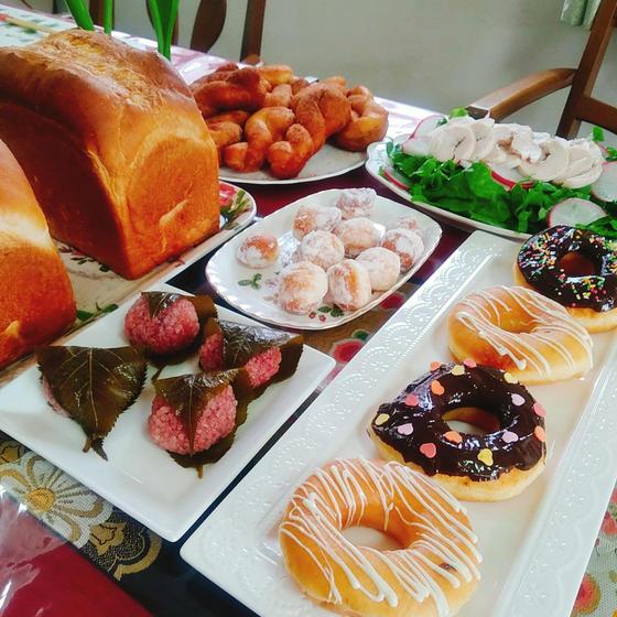 スイートドーナツ、バタートップ、道明寺
