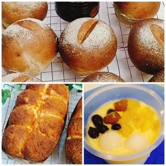 黒ビールパン、レモンとココナツのパン,モーモーチャーチゃー