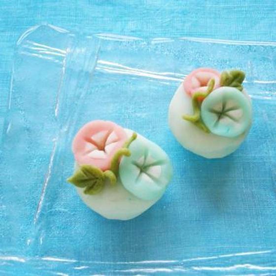 デコ和菓子体験!練り切りで「朝顔」を作ります。