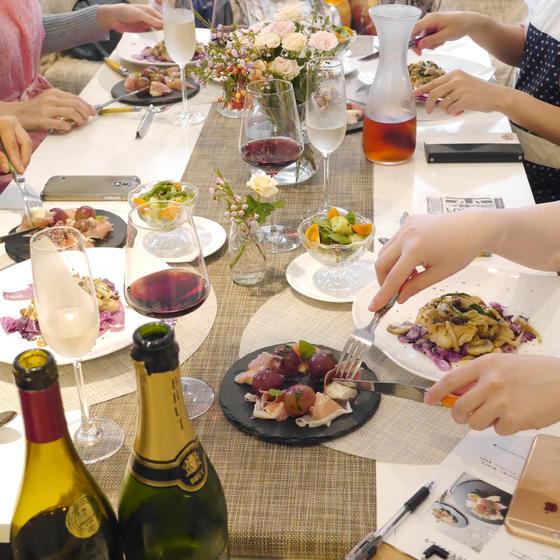 秋の食材やハーブを使ったギリシャ料理アレンジレッスン