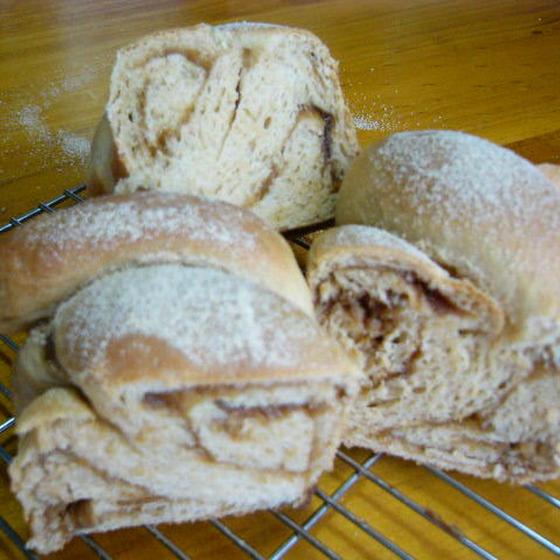初めての方も大丈夫♪きなこ黒糖まーぶるパン