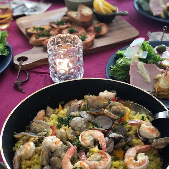 【クリスマス料理レッスン③】おうちスペイン料理を愉しみましょ
