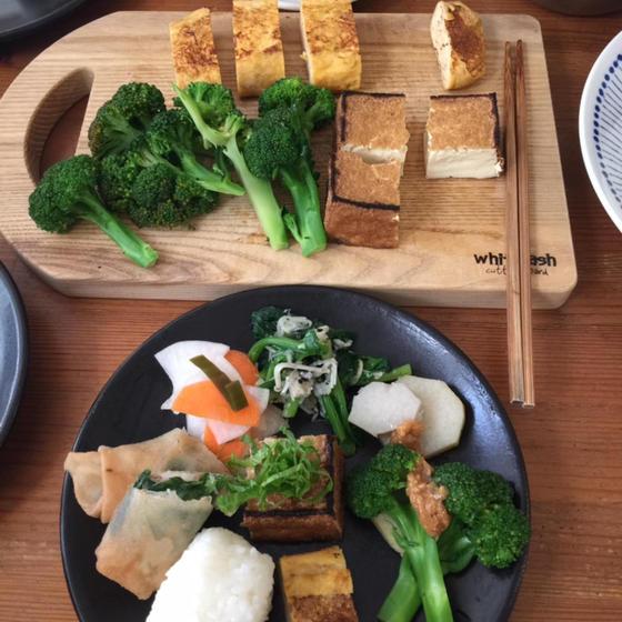 発酵調味料と季節野菜の御菜でlunch Time!