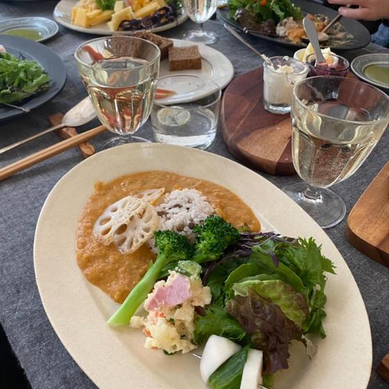 【発酵食料理】自家製甘糀と季節野菜のカレー