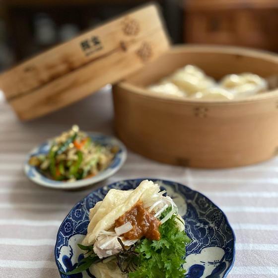 【家庭料理教室】蒸籠で花巻&参鶏湯で身体を温めよう!
