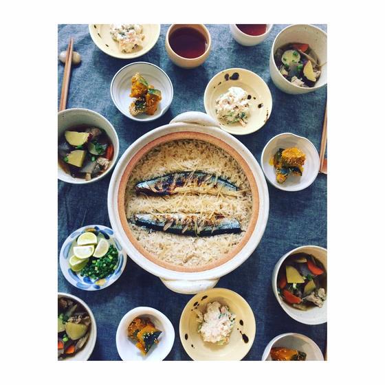 【旬食材で季節の家庭料理】新米の美味しい季節!旬の魚で土鍋ごはん