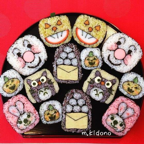 飾り巻き寿司半年講座 @神宮前