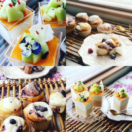 7月ダブル 『贅沢メロンムース&丸ごとチーズケーキブレッド』