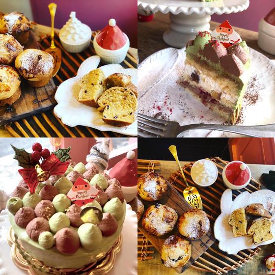 12月クリスマスケーキ&イタリアンパネットーネパン教室
