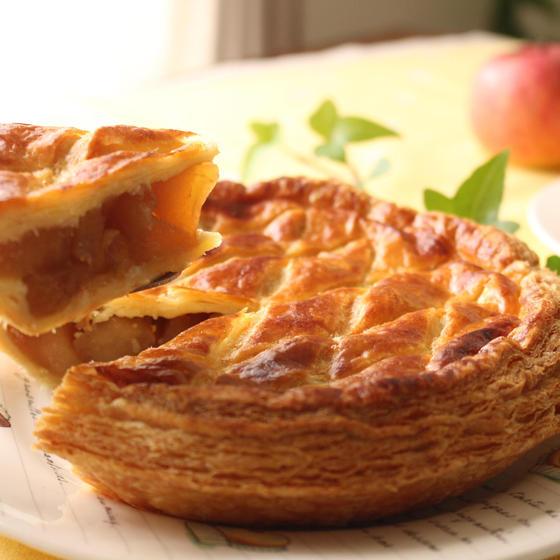 キャラメルりんごのリッチ・アップルパイ♪