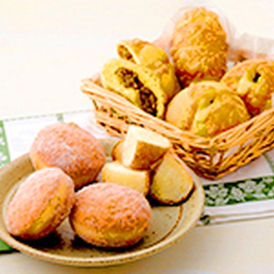 天然酵母 単発レッスン 焼きカレーパン&ふわふわドーナツ