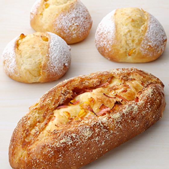 天然酵母 コーンクッペ&コーンパン