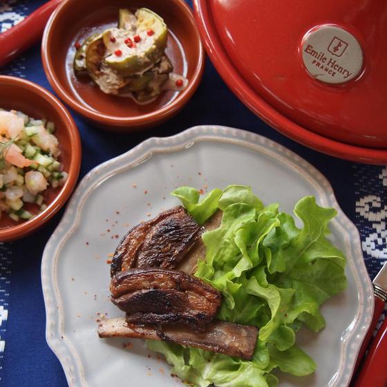 フレンチスタイルの家庭料理ー地中海&オリエンタルテイスト