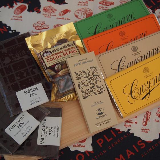 フランス直送・9種のチョコレートとカカオを愉しむ会