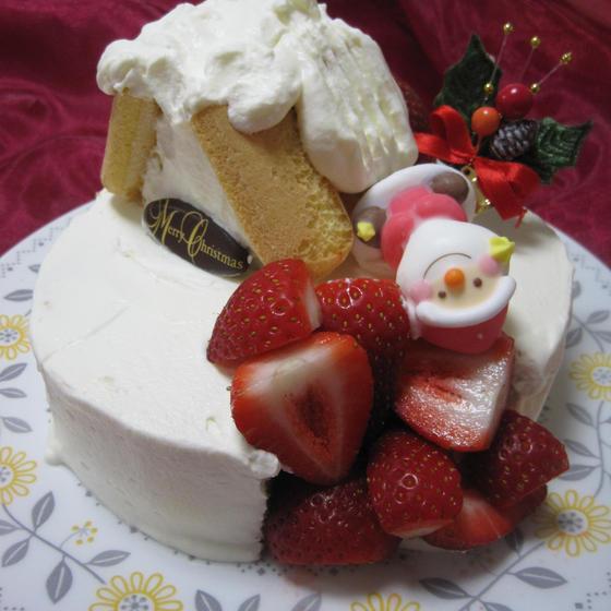 クリスマスケーキ教室