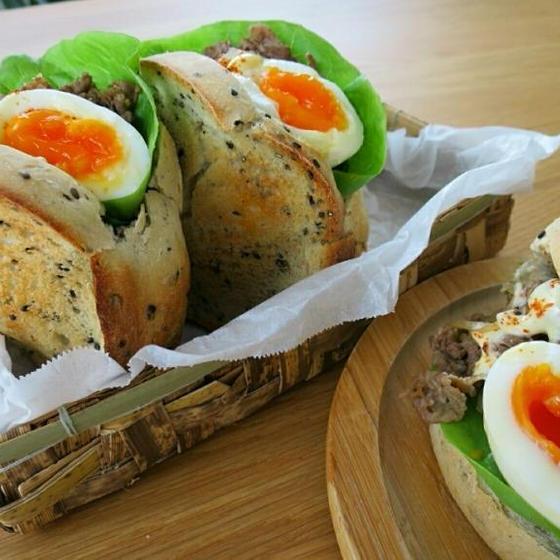 12月【Bコース】 ~サンドイッチに合う、和素材メニュー~