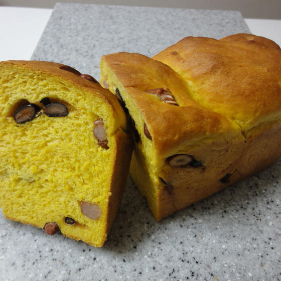 かぼ豆食パン