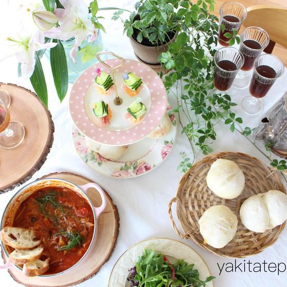 世界を旅するパンと料理