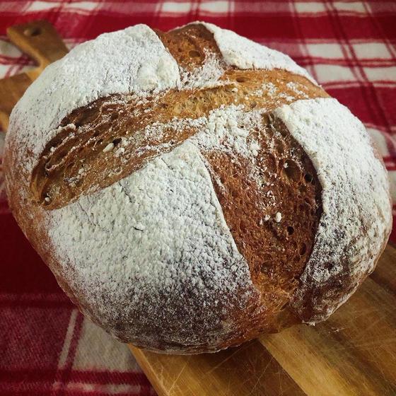 天然酵母(レーズン酵母)パン焼き:完全マンツーマンレッスン