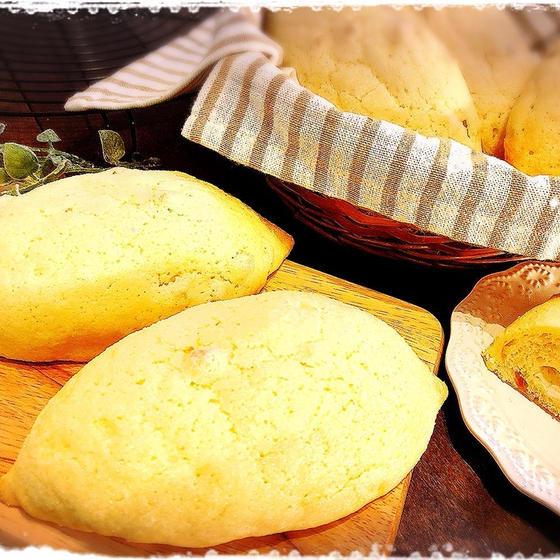 レモンメロンパン【白神こだま酵母】