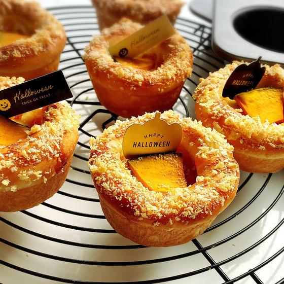 かぼちゃグラタンパン【とかち野酵母】