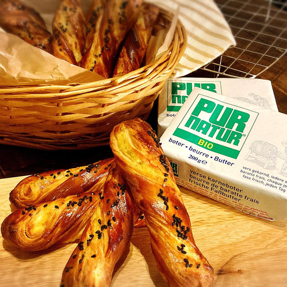 発酵バターのさつまいもスティック【白神こだま酵母】