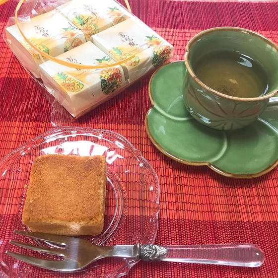 パイナップルケーキ&美味しい台湾高山茶🍵でティータイム