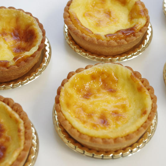 焼き菓子:カマンベールチーズのタルトレット
