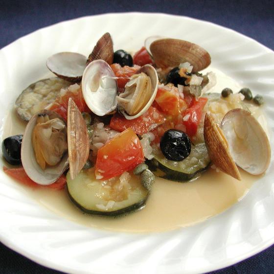 おうちで簡単本格イタリアン:魚の蒸し煮