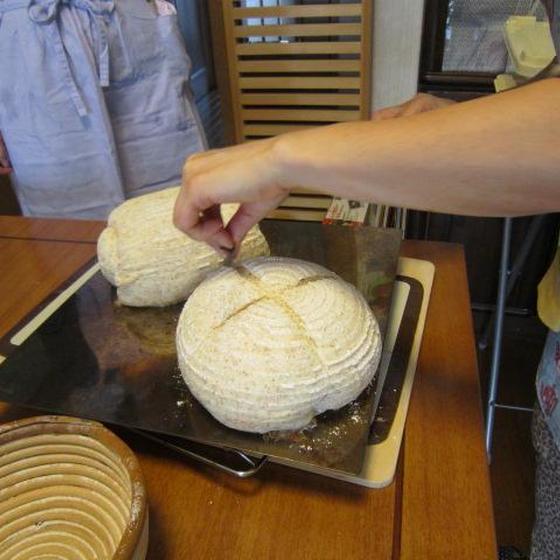 基本的なパンを習うクラスです、初心者も可