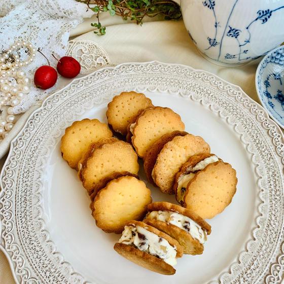 クリームチーズのレーズンサンドクッキー