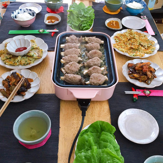 旬のお野菜を使った韓国家庭料理レッスン