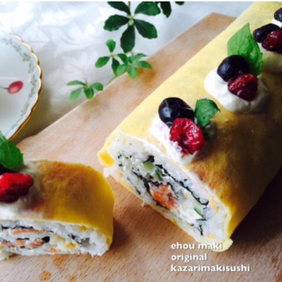 大人気のレッスンです!【対面レッスン】洋風ロールケーキ寿司
