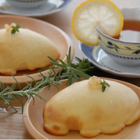 夏パンを作ろう!ツナカレーフランス&レモンヨーグルトブール