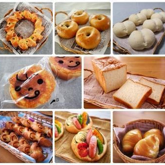イーストパンと簡単なお菓子のレッスン