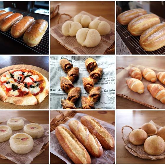 【オンライン】おうちで楽しむパンレッスン