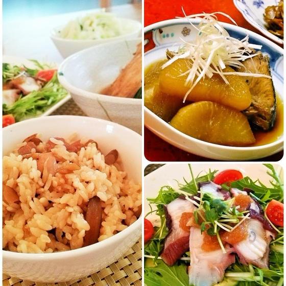 【B】人気メニュー☆和食の定番!旨みたっぷりブリ大根&鶏めし