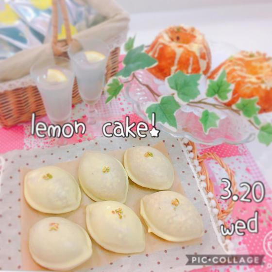 レモンケーキ2種