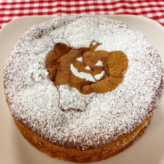 かぼちゃのスフレーズケーキ