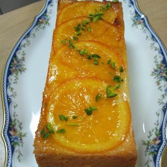 オレンジケーキ(18㎝パウンド型)