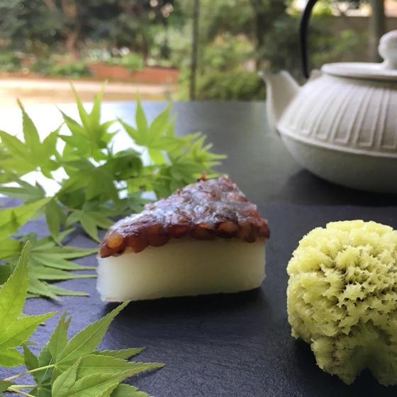 """""""水無月""""と言えば6月の和菓子、あと""""艶袱紗""""を作りましょう"""