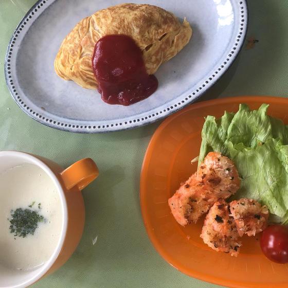 子ども料理教室 ~オムライスとパフェ作り♪~