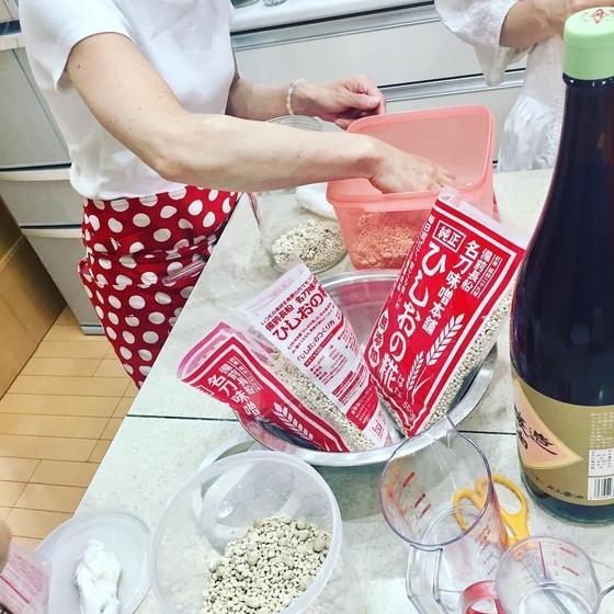 万能調味料!醬(ひしお)の仕込みと簡単メニュー(奈良市)