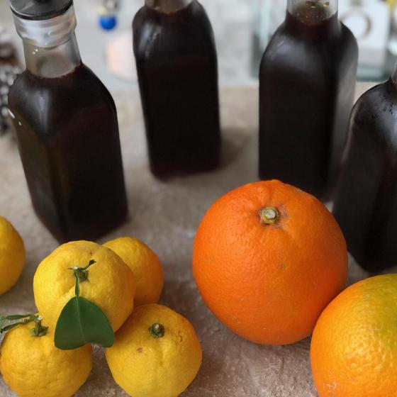 自家製ゆずポン酢作ってお持ち帰り&ポン酢のアレンジ料理