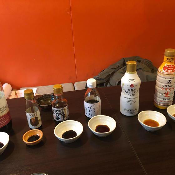 初登場!醤油基礎講座&マイ醤油の仕込み