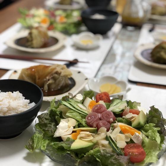 ゆる~い糖質オフ料理教室・ロールキャベツ